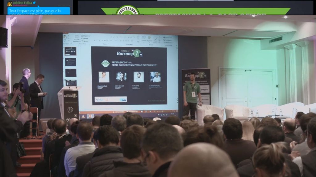 Conference prestashop 1.6, module pour site internet de e commerce