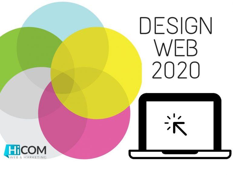 Design Web : les tendances 2020
